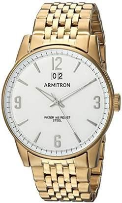 Armitron Men's 20/5231WTGP Date Function -Tone Bracelet Watch