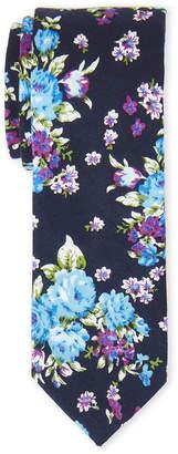 Original Penguin Navy Kamla Floral Tie