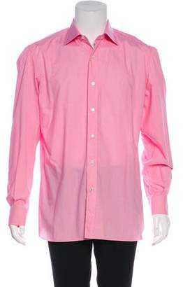 Isaia Gingham Woven Shirt