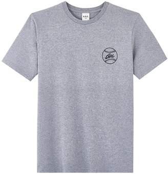 A.P.C. Grey Arrol T Shirt - M - Grey