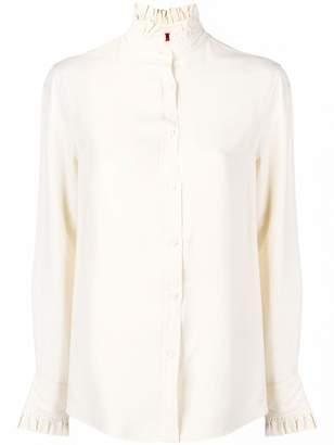 a8ccc293364a01 Ruffle Collar Shirt - ShopStyle
