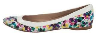 Nina Ricci Printed Round-Toe Flats