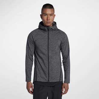 Nike Dri-FIT Men's Long Sleeve Full-Zip Training Hoodie