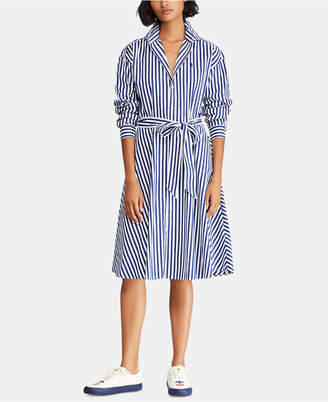 Polo Ralph Lauren Broadcloth Cotton Shirtdress