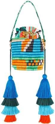Maison Alma MAISON ALMA Jungla Woven Fique Bucket Bag