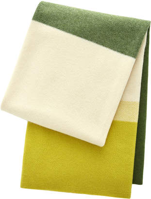 Saved NY Array Color-Block Cashmere Blanket