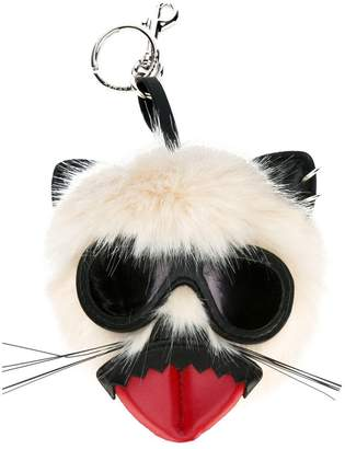 Stella McCartney punk mouse keychain