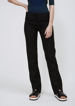 Courreges black suit trousers $739 thestylecure.com