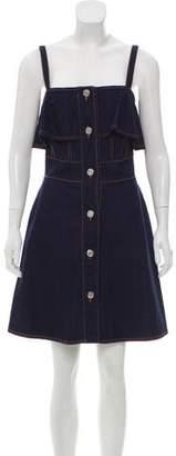 See by Chloe Denim Mini Dress