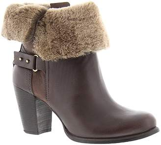 UGG Jayne Women's Fold Over Stacked Heel Boots Shoes