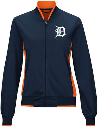 G-iii Sports Women Detroit Tigers Triple Track Jacket