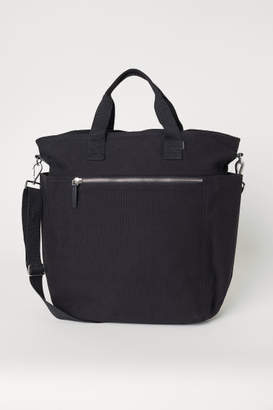 H&M Canvas Shoulder Bag - Black