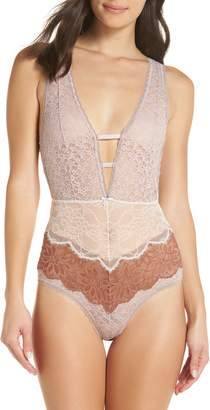 Urban Outfitters Free People Intimately FP Not Yours Bodysuit