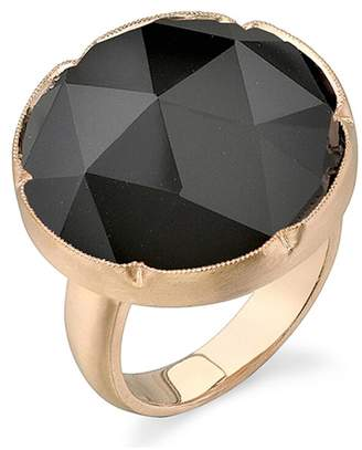 Irene Neuwirth Black Onyx Ring - Rose Gold