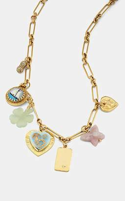 Eliza J Brinker & Women's Mischief Managed Charm Necklace - Gold