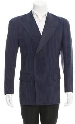 Jean Paul Gaultier Pinstripe Double-Breasted Blazer