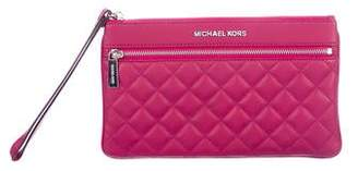 MICHAEL Michael Kors Quilted Leather Clutch