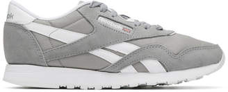 Reebok Classics Grey Club Nylon Sneakers