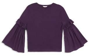 Habitual Girls' Taylor Flare-Sleeve Knit Top - Big Kid