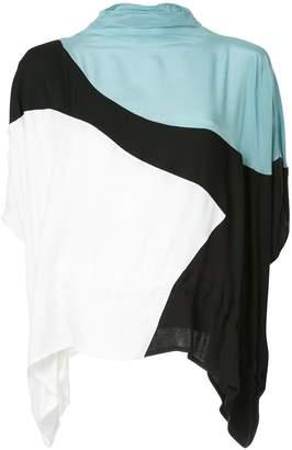 Taylor block colour blouse