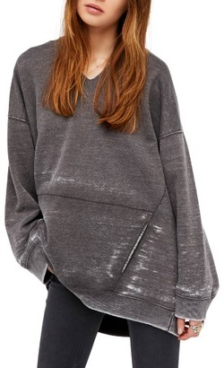 Women's Free People Get It Pullover Hoodie $78 thestylecure.com
