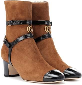 a38f0a20e28 Gucci Suede Boots For Women - ShopStyle Australia