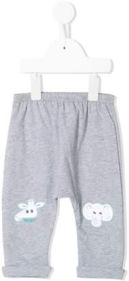 Kenzo drop-crotch track pants