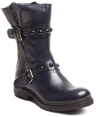 Manas Design Side Zip Leather Boot