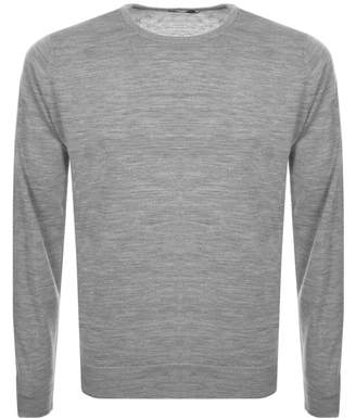 John Smedley Lundy Knit Jumper Grey