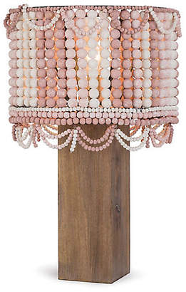 Malibu Table Lamp - Weathered Pink/Birch - Regina Andrew