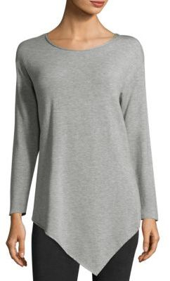 Joie Soft Joie Tammy Asymmetrical Long Sleeve Top $138 thestylecure.com