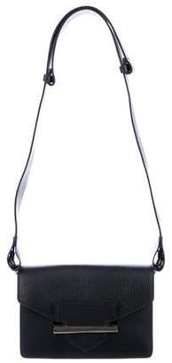 Aquatalia Grained Leather Belt Bag