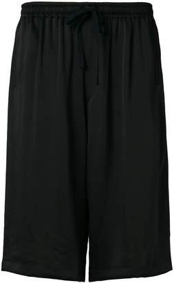 Y-3 wide leg shorts