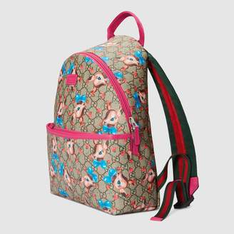Gucci Children's GG fawns backpack