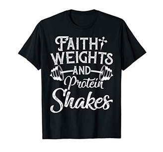 Christian Workout Fitness Weightlifting Body Building Gift T-Shirt
