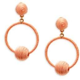 Panacea Wrapped Drop Earrings
