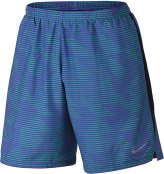 "Nike Men's 7"" Dry Printed Running Shorts $40 thestylecure.com"