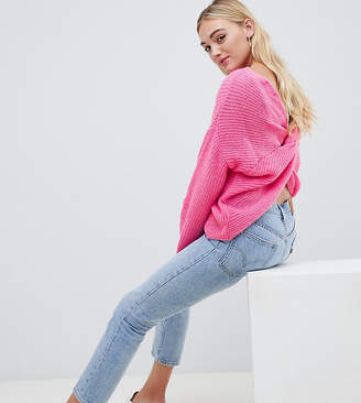 Asos Tall Chunky Jumper Twist Back