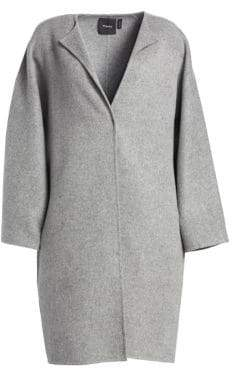 Theory Rounded Wool-Blend Coat