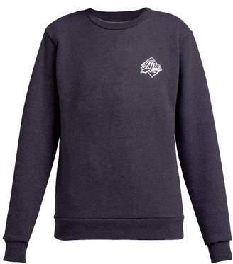 A.P.C. Ryan Crew Neck Cotton Blend Sweatshirt - Womens - Navy