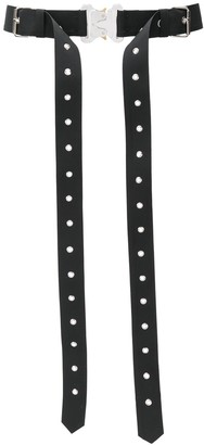 Alyx buckled layered belt
