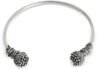 Giacomo Burroni Etruscan Knot Silver Bangle