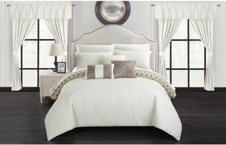 Chic Home Liron 20 Piece Reversible Bed in a Bag Comforter Set