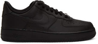 Nike Black Air Force 1 07 Sneakers