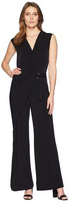 MICHAEL Michael Kors Wrap Front Jumpsuit Women's Jumpsuit & Rompers One Piece