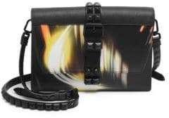 Prada City Lights Studded Shoulder Bag