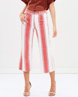 Frame Le Nouvebrama Straight Jeans