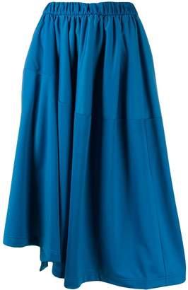 Y-3 asymmetric skirt