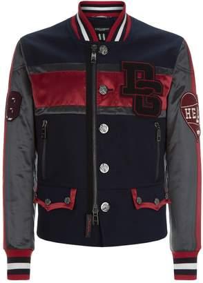 Dolce & Gabbana Embellished Logo Jacket