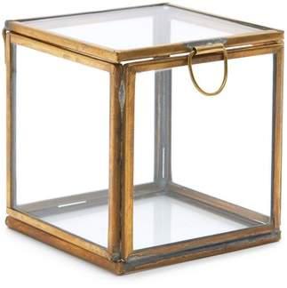 Pierre Keepsake Glass Box